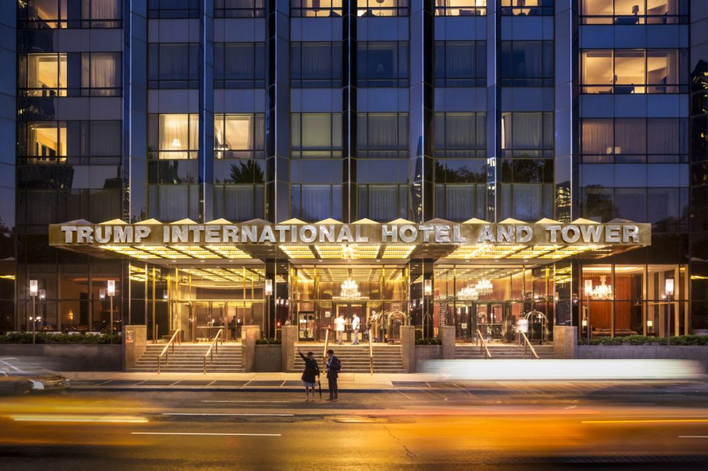 , Trump International New York, AMERICAN ACADEMY OF HOSPITALITY SCIENCES