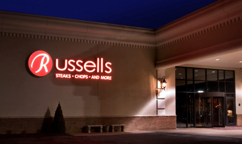 , Russel's Steaks, Chops, & More, AMERICAN ACADEMY OF HOSPITALITY SCIENCES