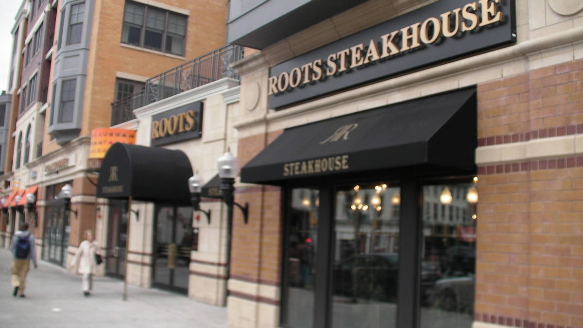 , Roots Steakhouse, AMERICAN ACADEMY OF HOSPITALITY SCIENCES
